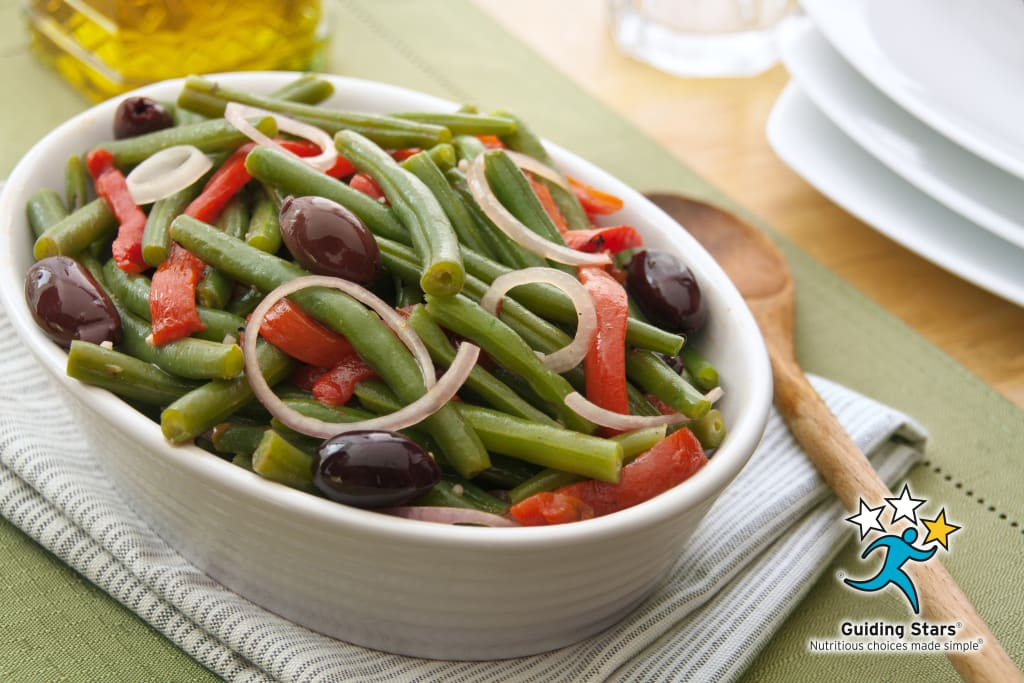 Roasted Red Pepper and Green Bean Salad