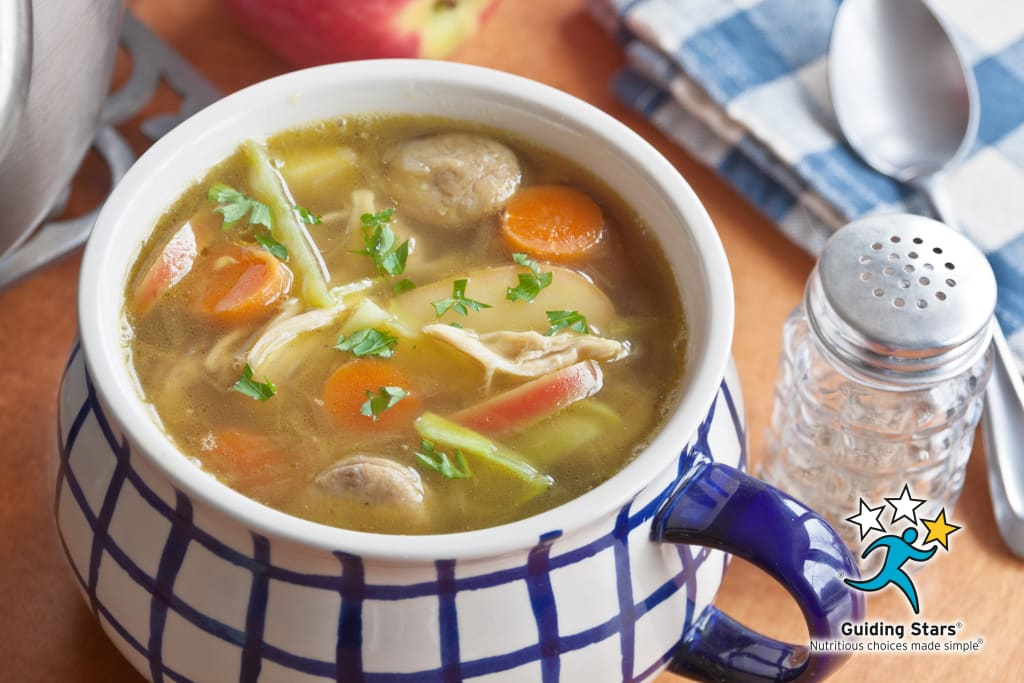 Sweet Harvest Chicken Soup