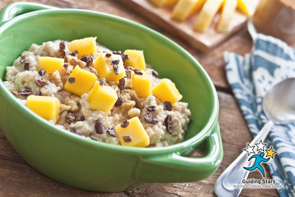 Tropical Twister Oatmeal