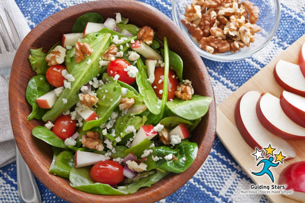 Apple Walnut Tossed Salad