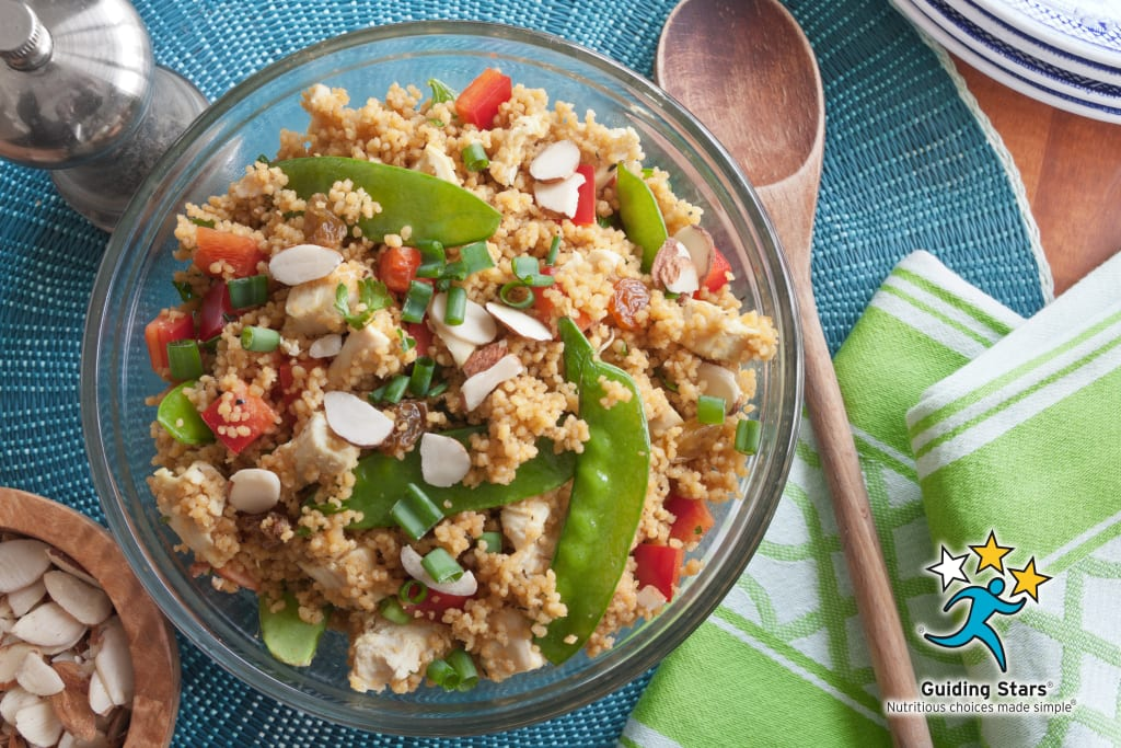 Moroccan Chicken & Couscous Salad
