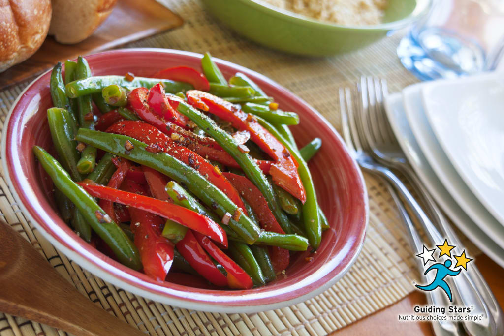 Red Pepper Green Beans