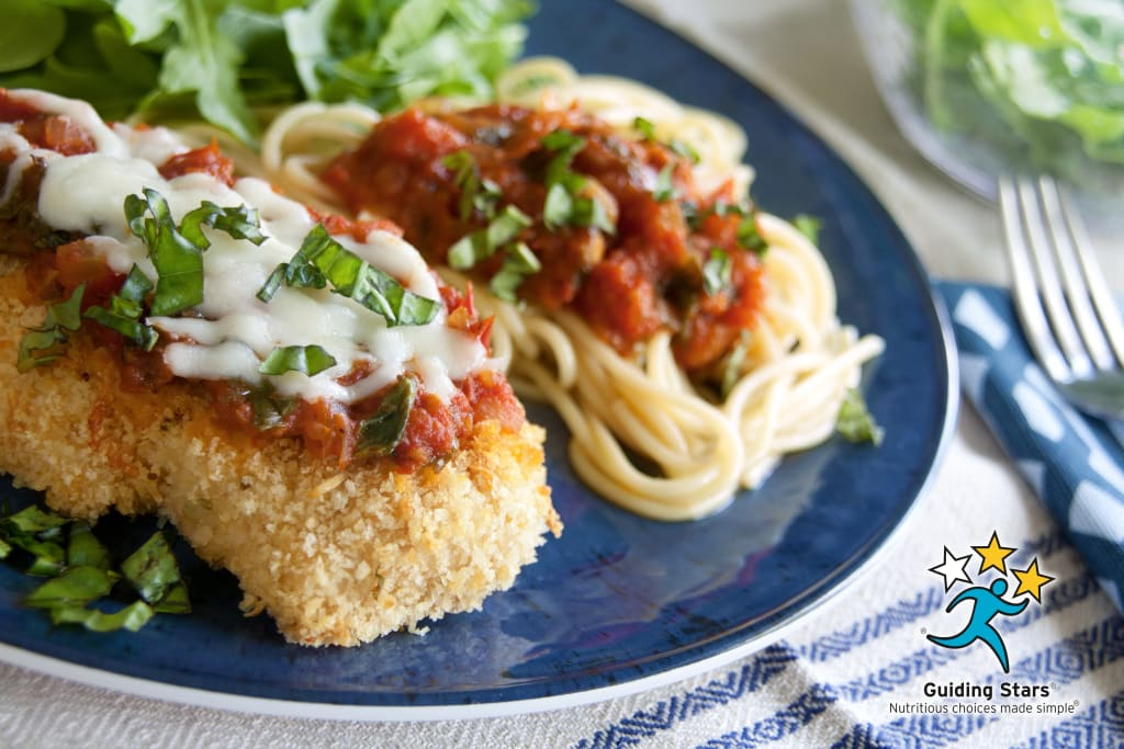 Oven Fried Chicken Parmesan