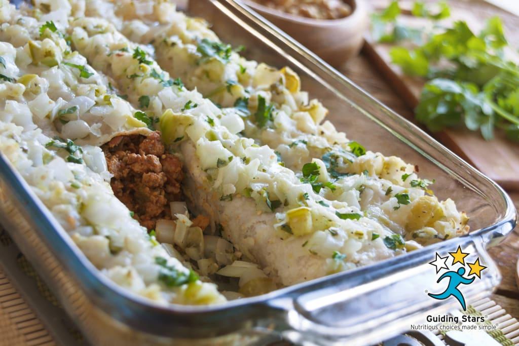 Turkey & Bean Enchiladas