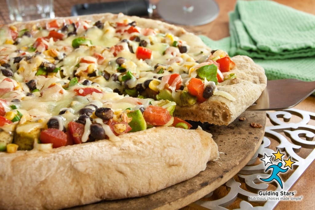 Black Bean Pizza.