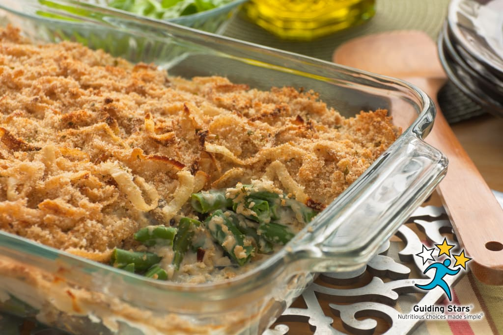 Green Bean Casserole with Caramelized Onions