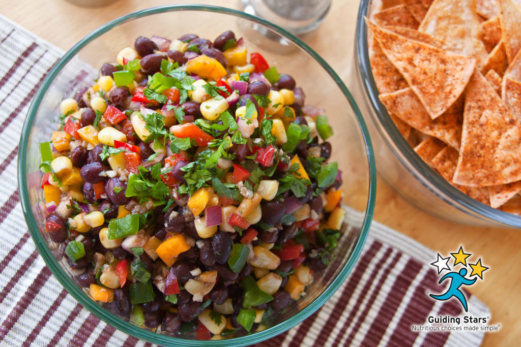 Black Bean and Bell Pepper Salsa
