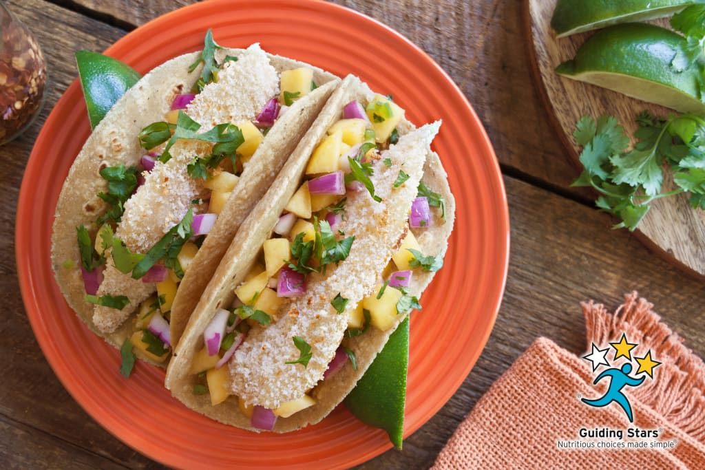 Tilapia Tacos With Peach Relish