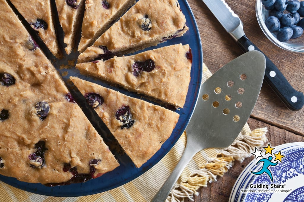 Blueberry Tofu Cake