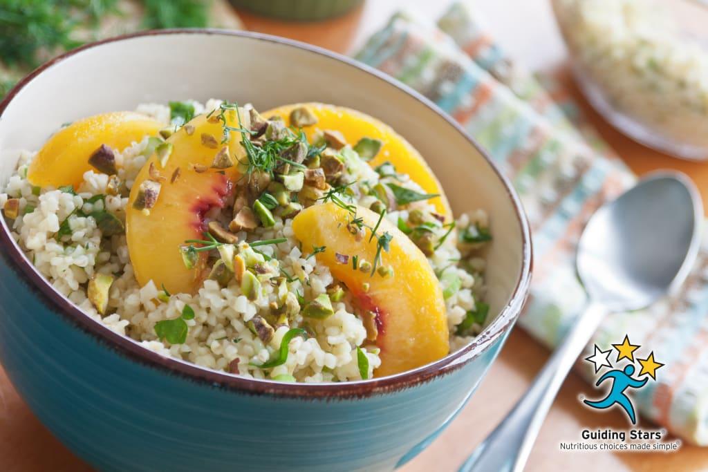Nectarine Bulgur Salad