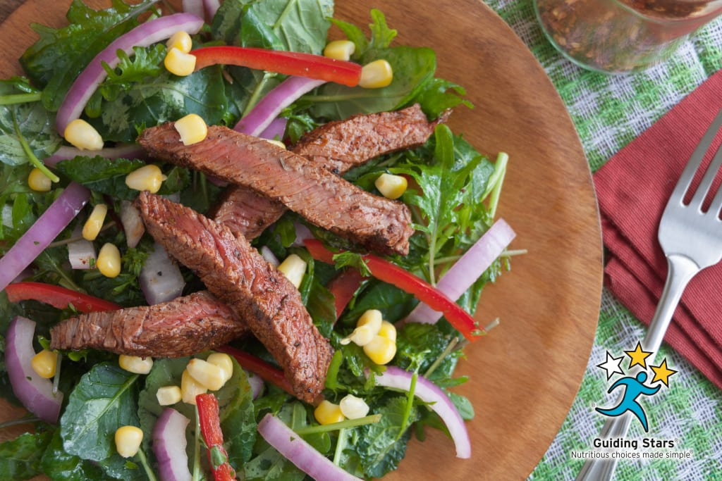 Grilled Sirloin Tip Steak Salad