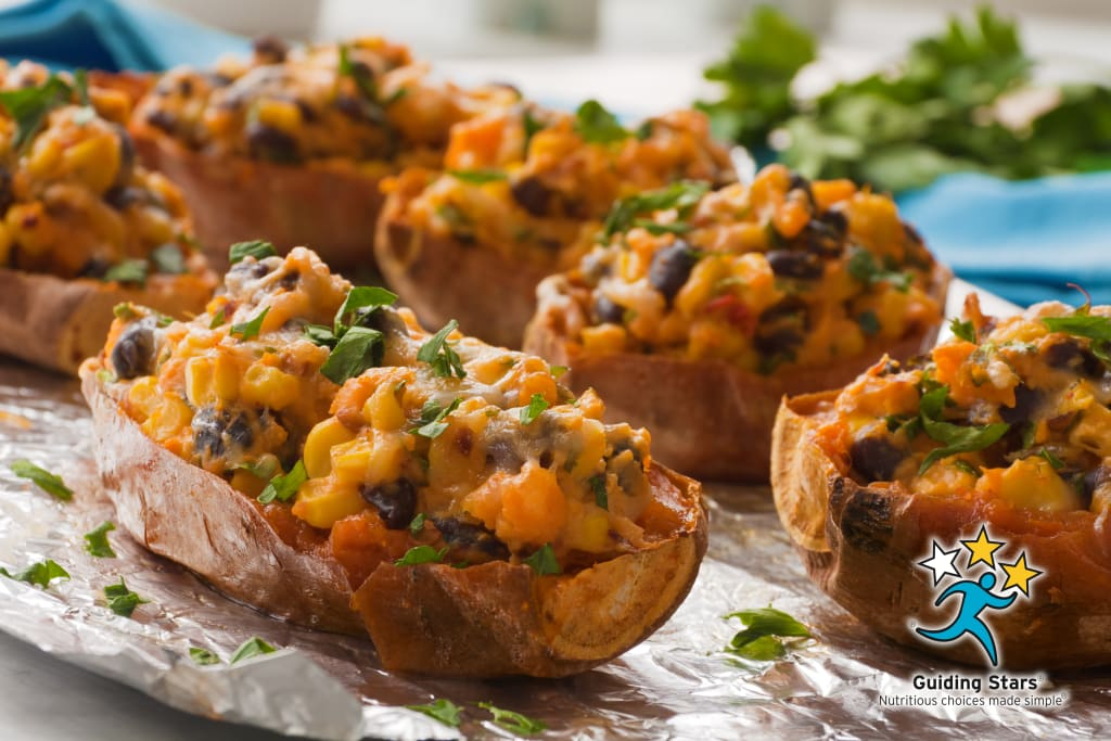 Stuffed Mexican Sweet Potatoes