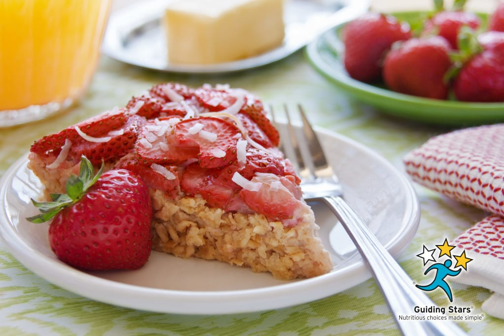 Strawberry Breakfast Pie