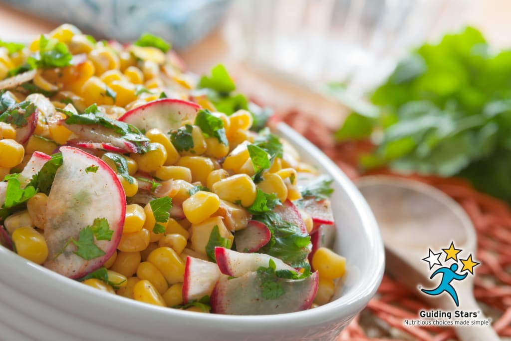 Radish Corn Salad