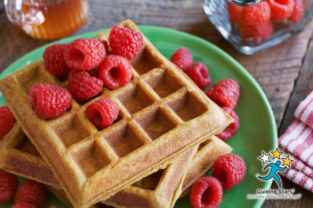 Pumpkin Overnight Waffles
