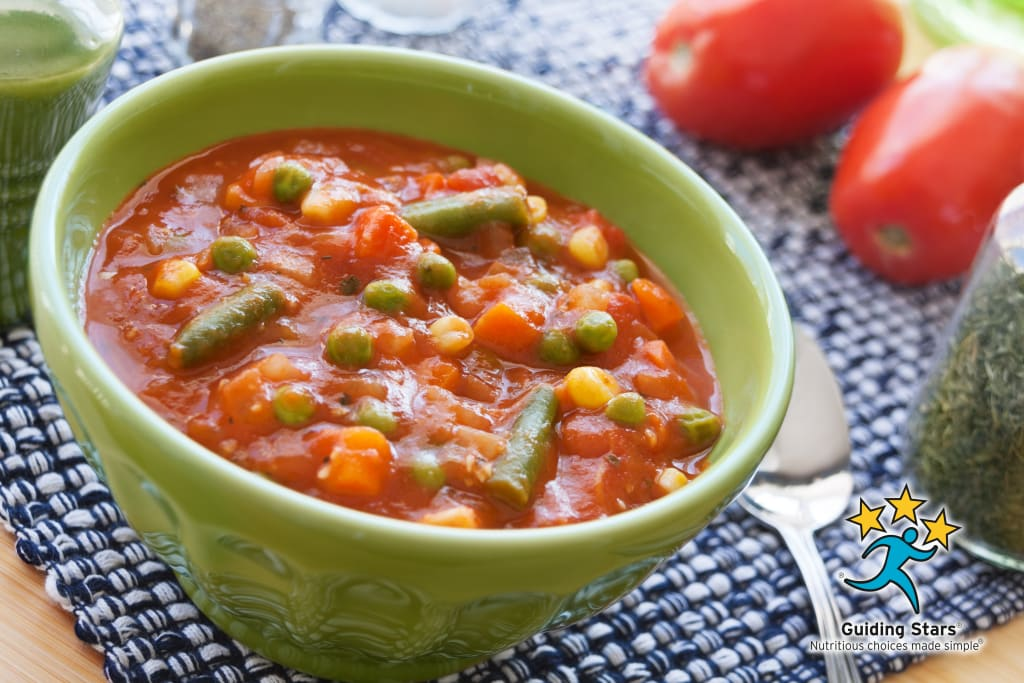 7 Minute Vegetable Soup