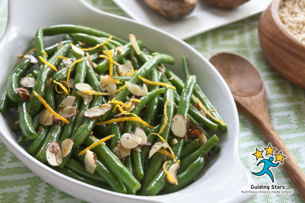 Orange & Toasted Almonds Green Beans