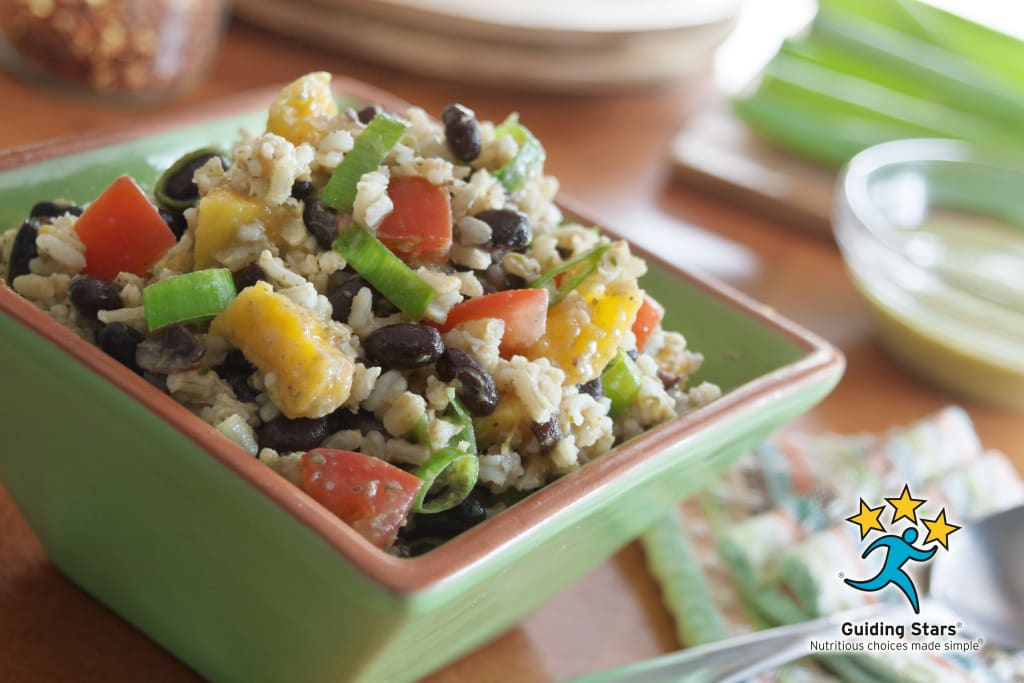 Mango Rice Salad