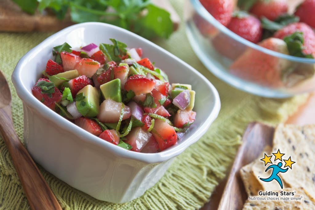 Strawberry-Avocado Salsa