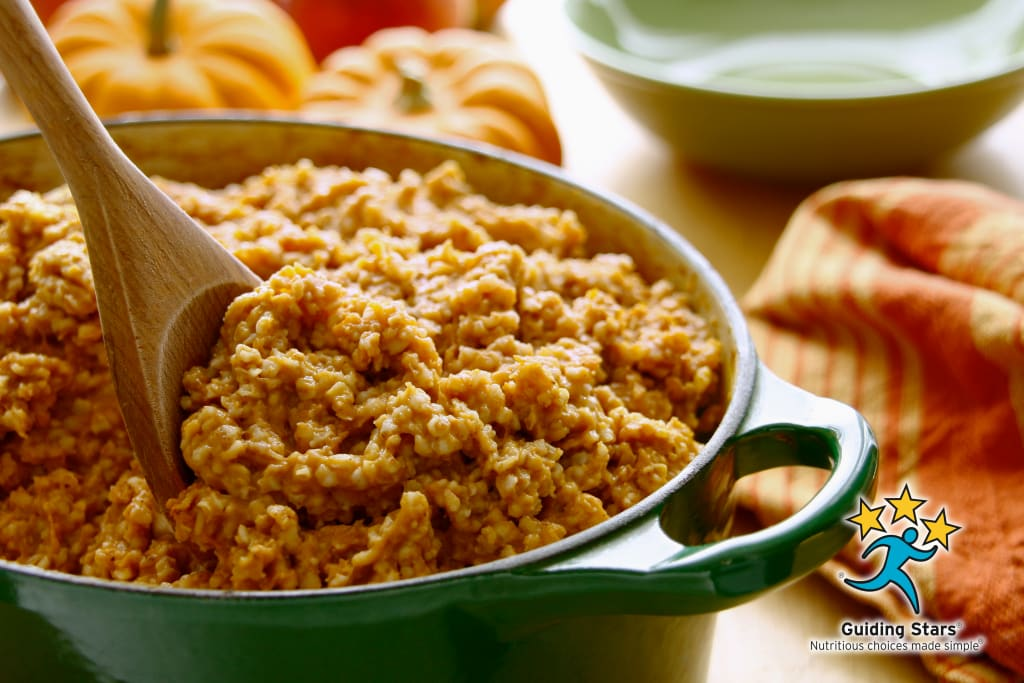 Pumpkin Irish Oatmeal