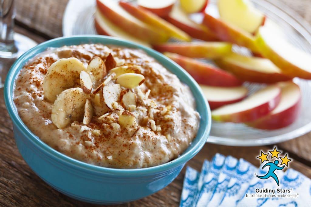 Spiced Banana Yogurt Dip