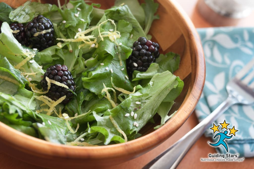 Blackberry Lemon Salad