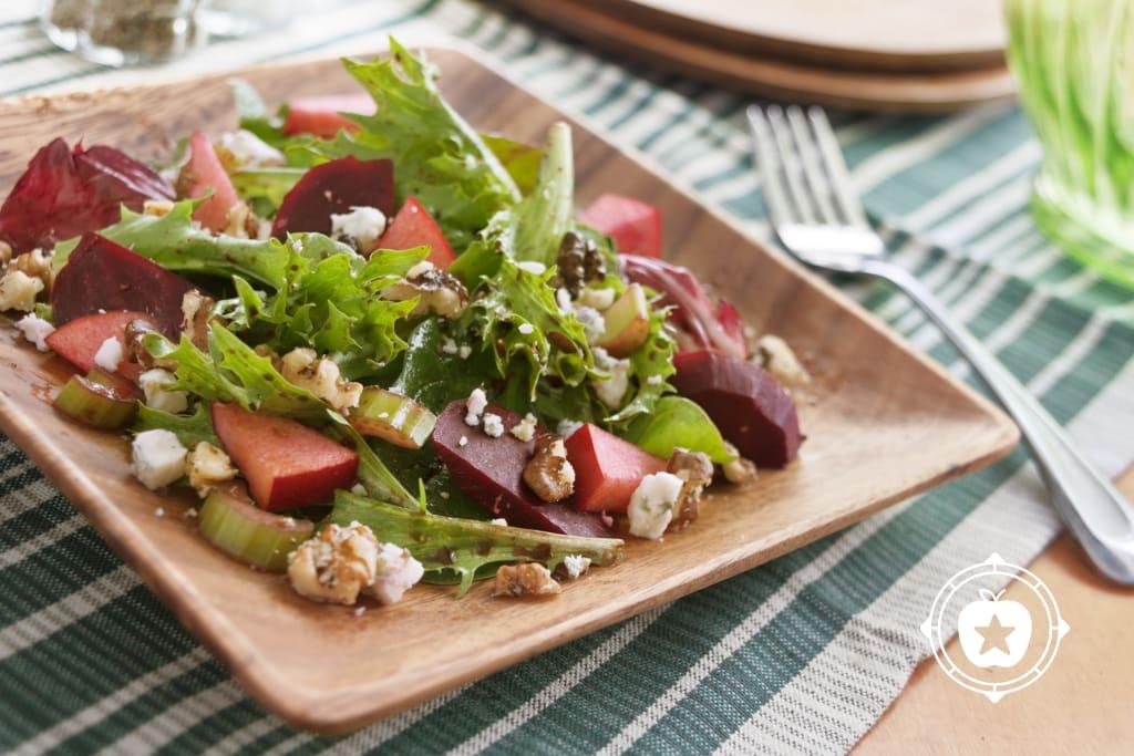 Beet Walnut Salad