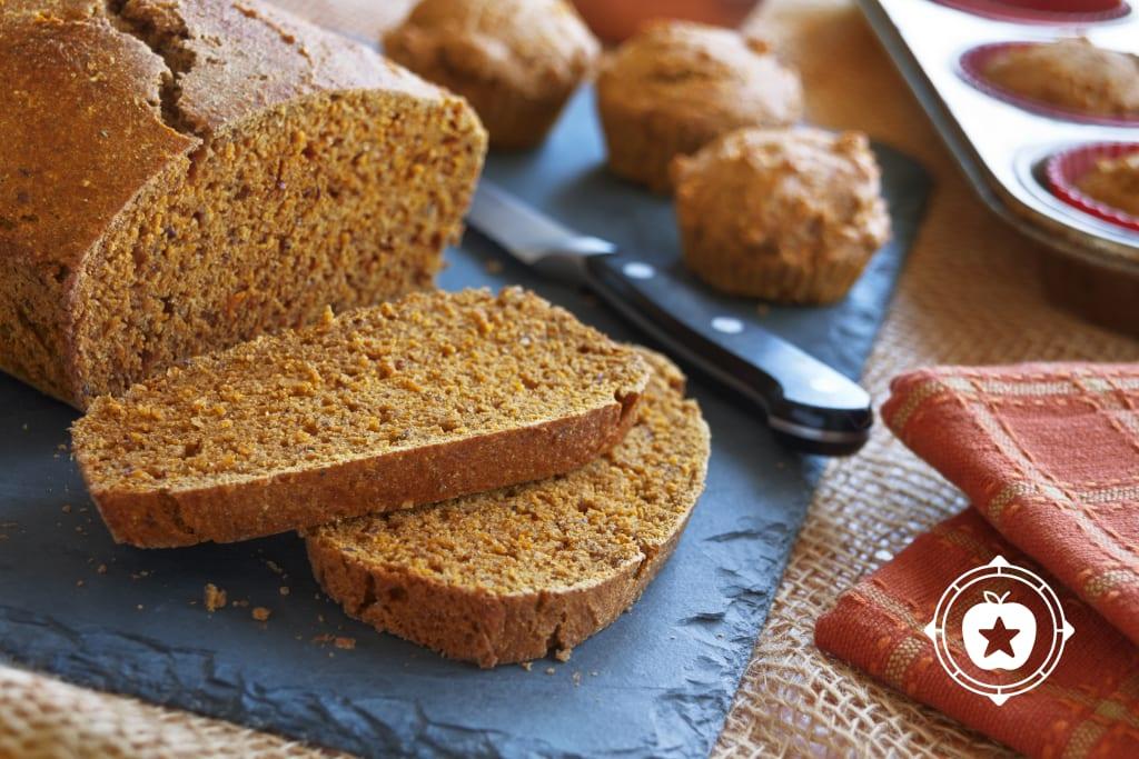 Pumped-up Pumpkin Bread