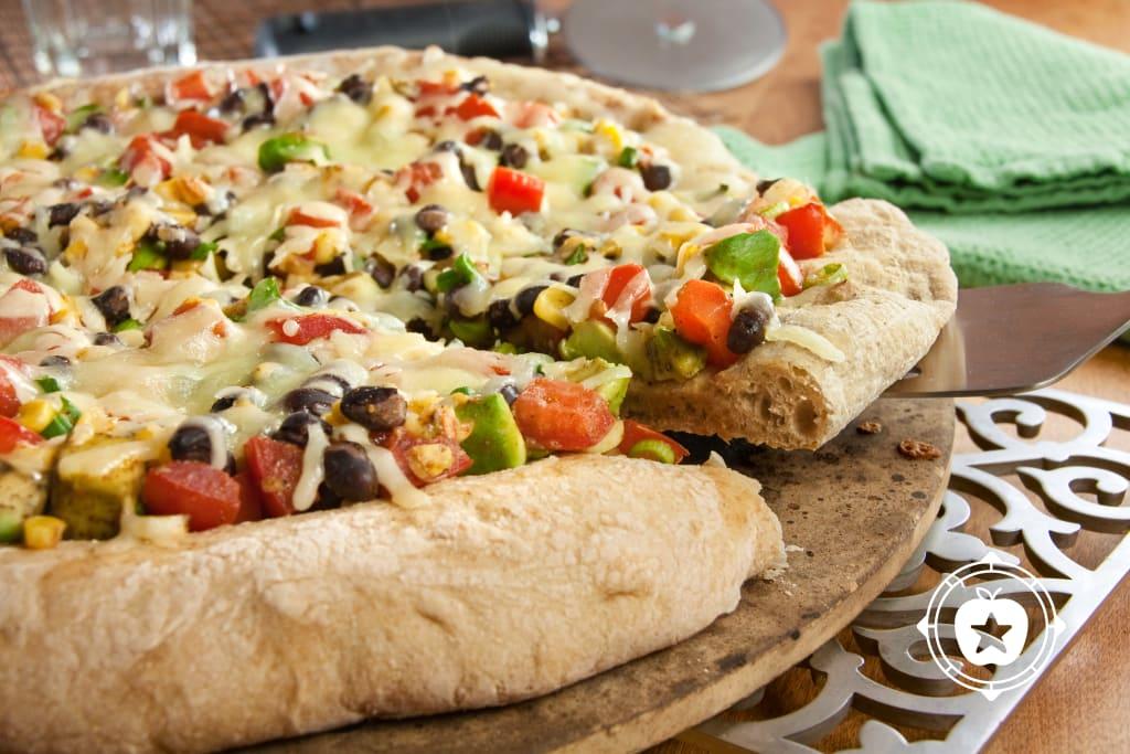Black Bean Pizza.