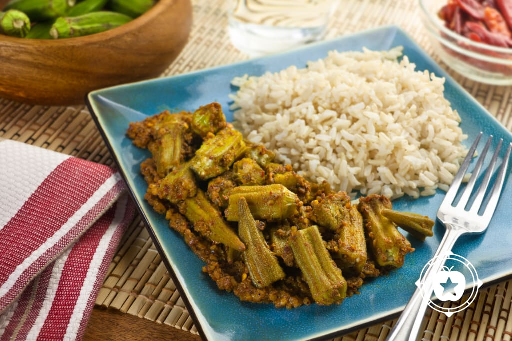 Okra Tamarind Curry