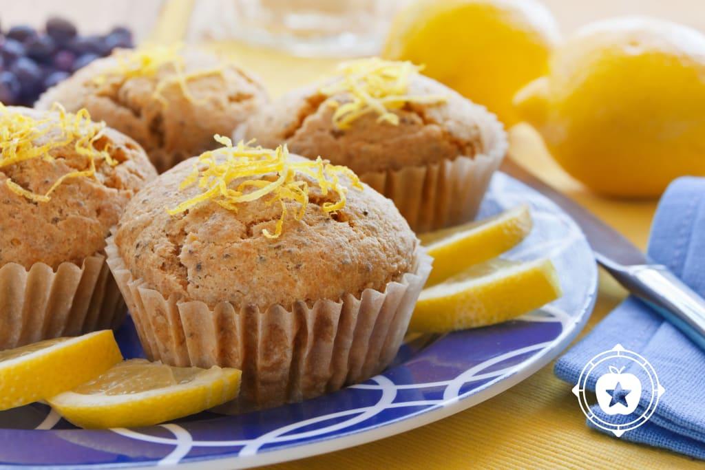 Lemon Chia Muffins