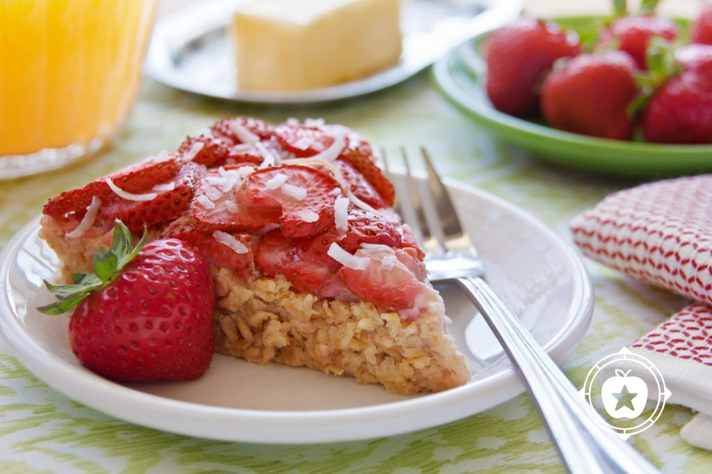 Strawberry Breakfast Pie