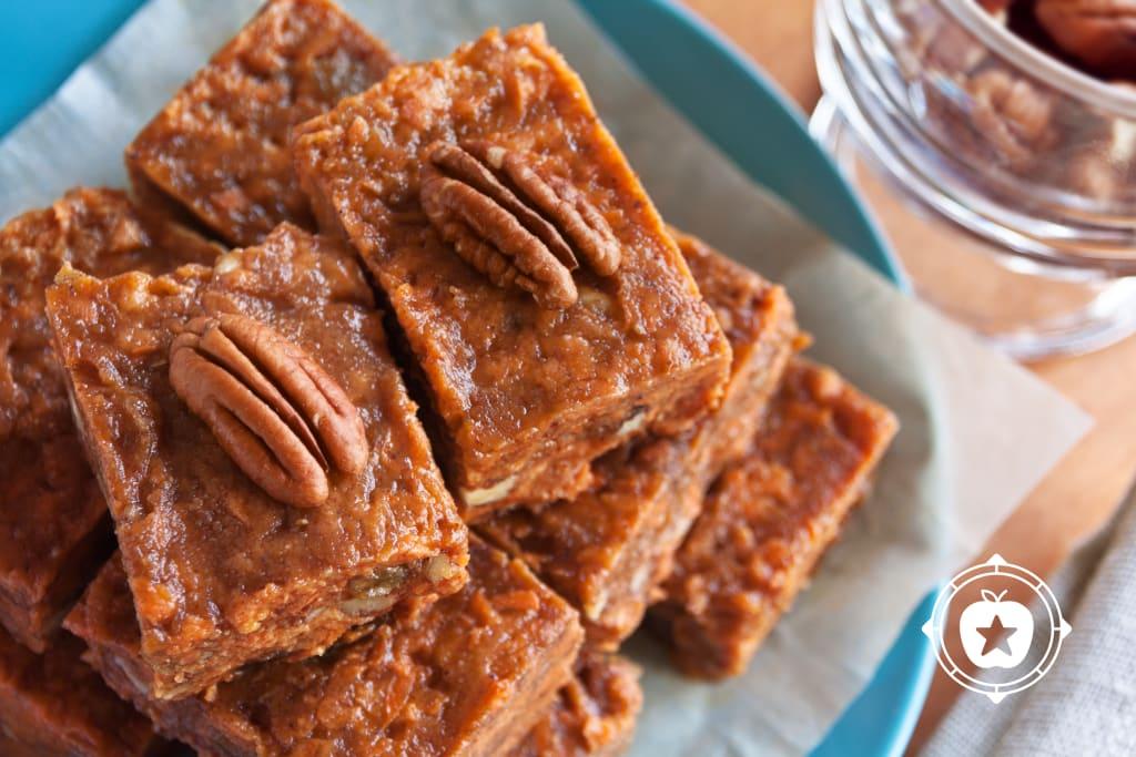 No-Bake Pecan Carrot Bars