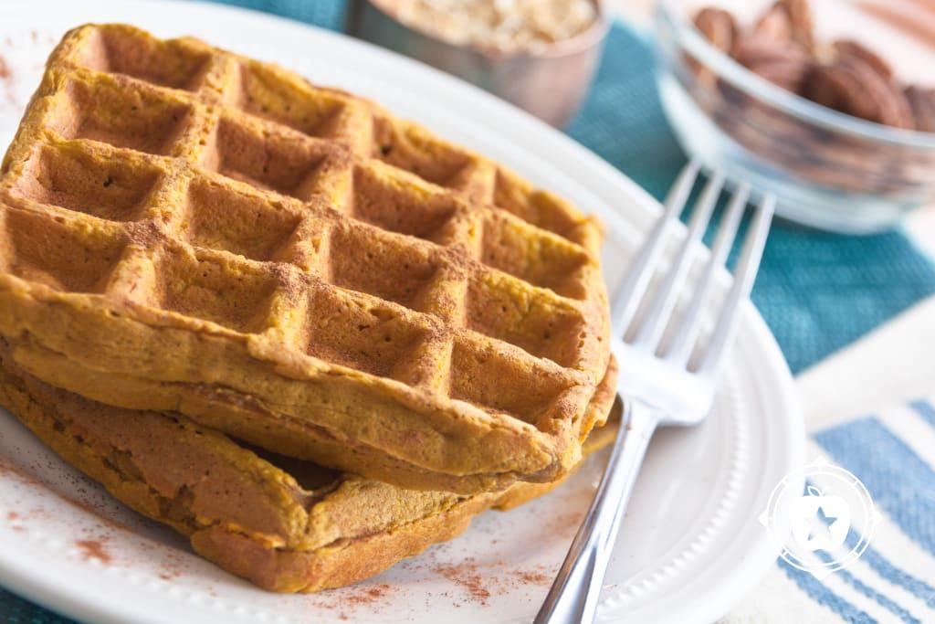 Pumpkin Blender Waffles