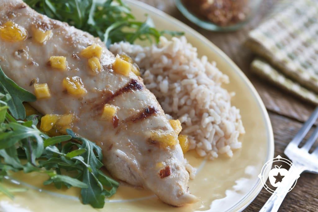 Grilled Mango Chicken