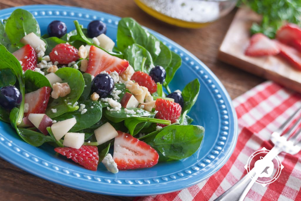 Red, White & Blue Salad