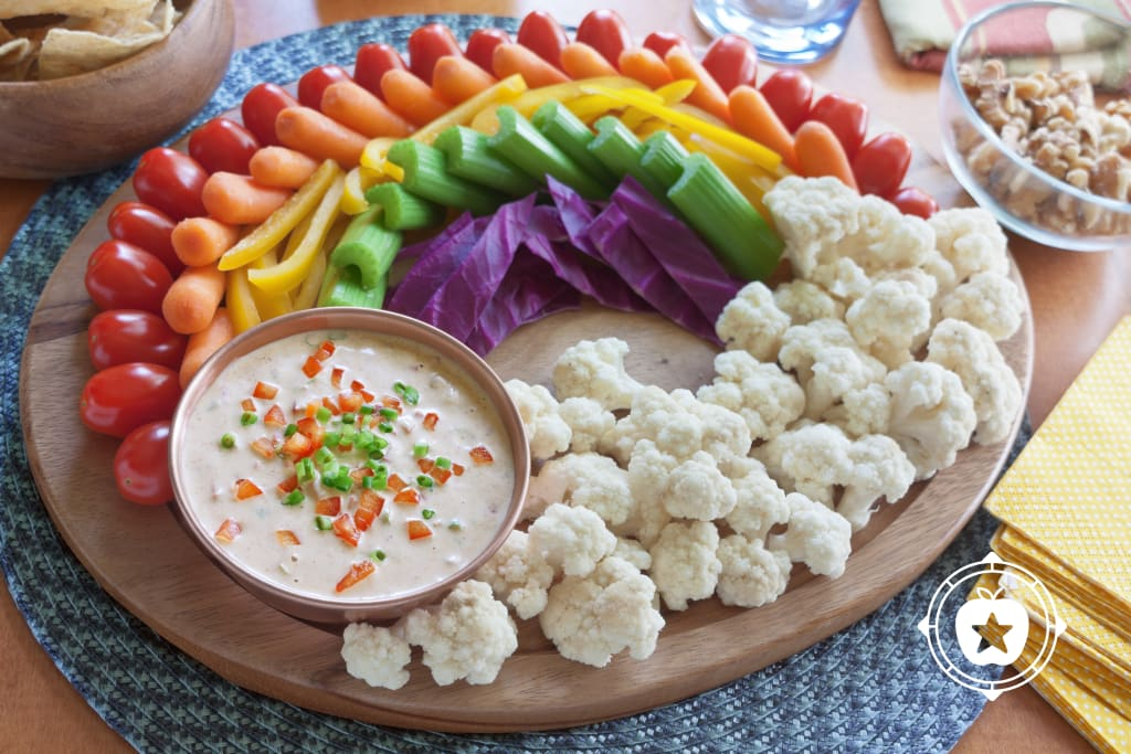 Curried Red Pepper Dip