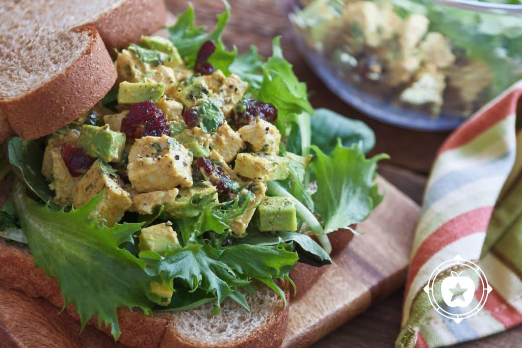 Curried Turkey-Avocado Sandwich