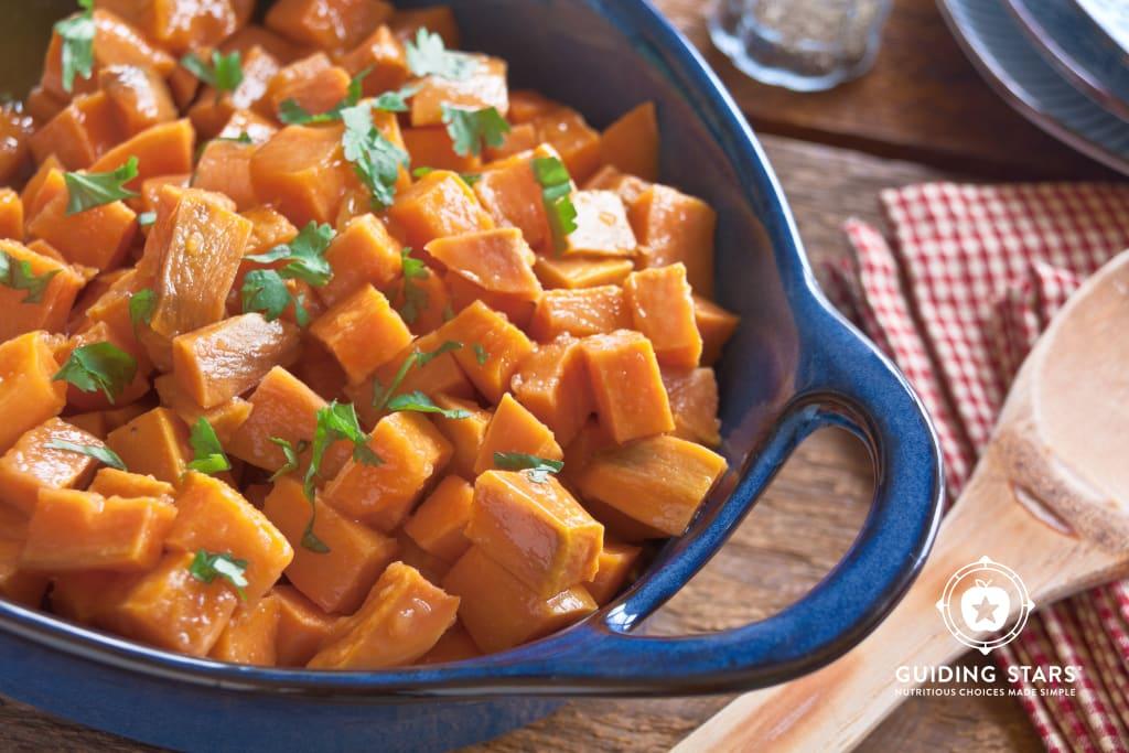Apple Glazed Sweet Potatoes