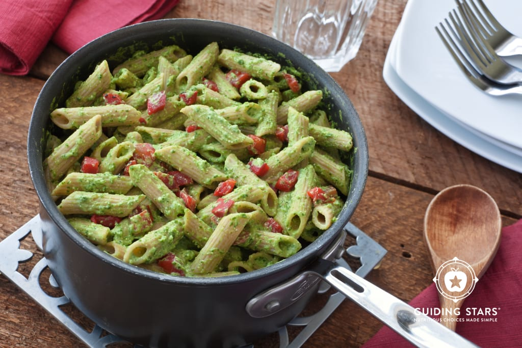 Creamy Spinach Penne