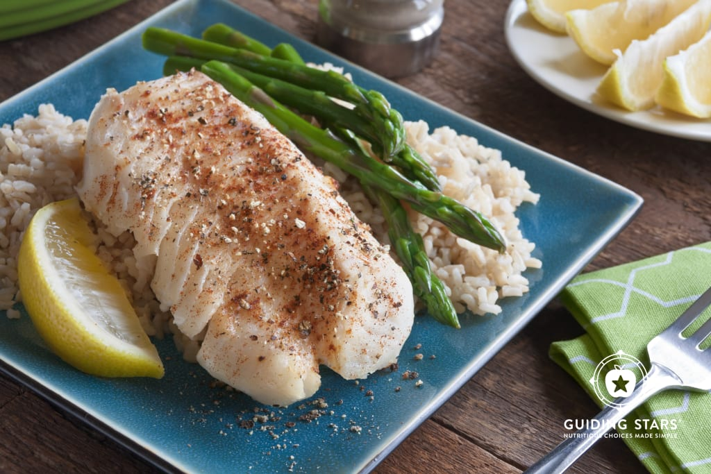 Spicy Baked Fish