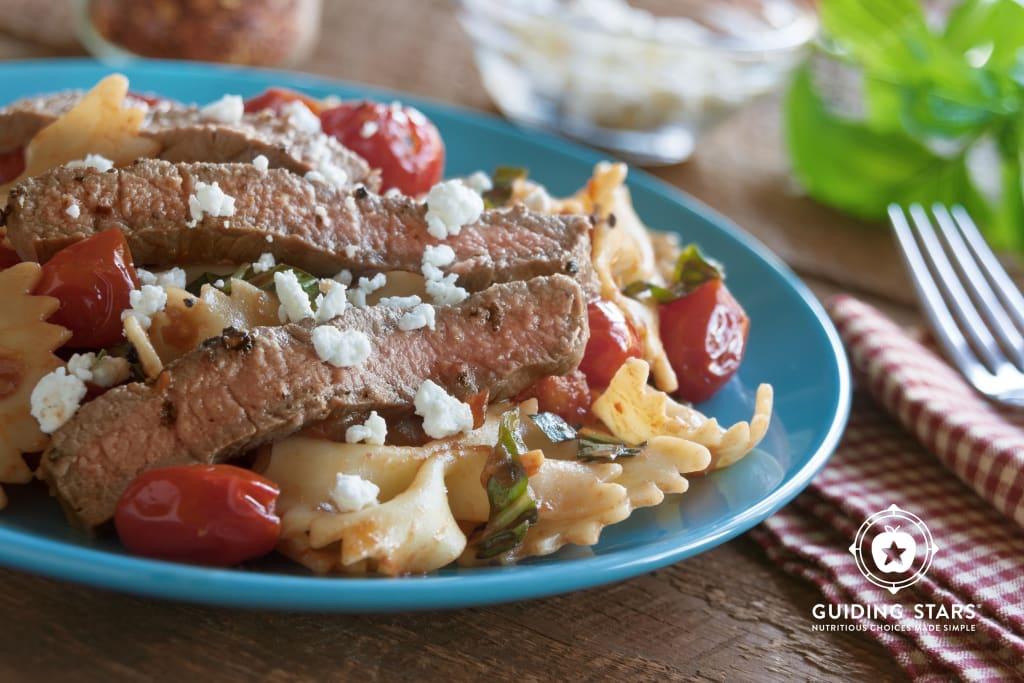 Grilled Italian Steak & Pasta