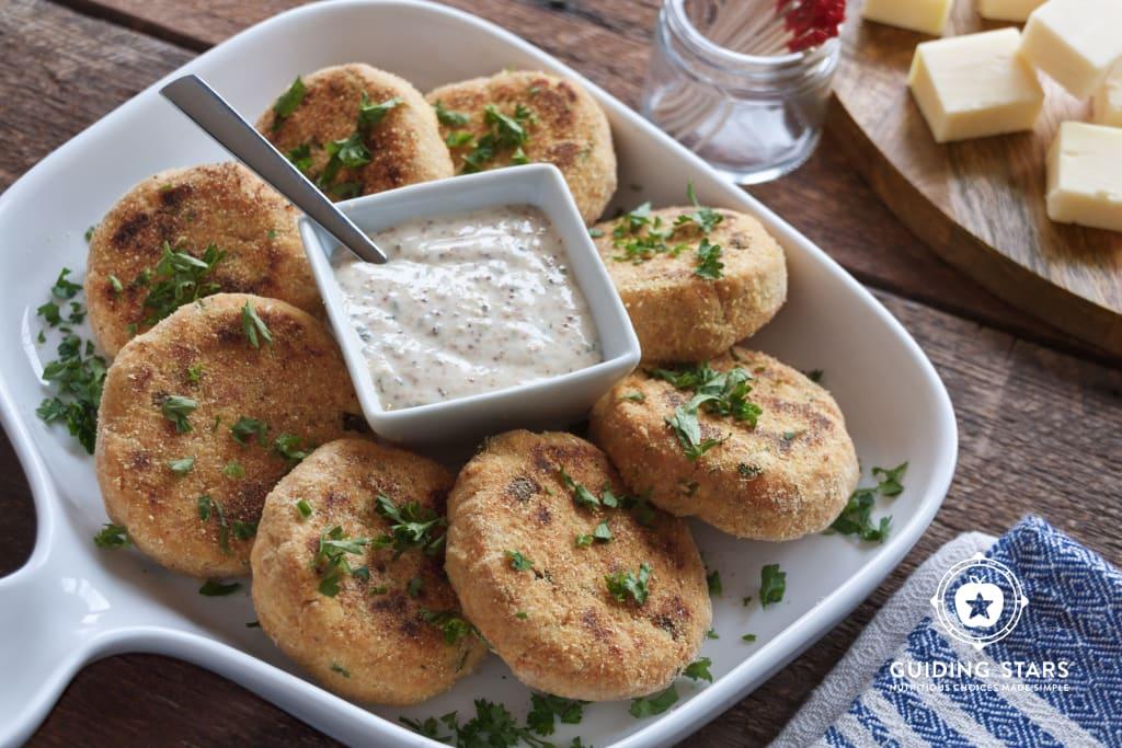 Salmon & Sweet Potato Fishcakes