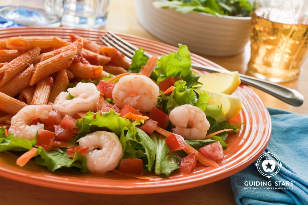 Penne and Shrimp Salad