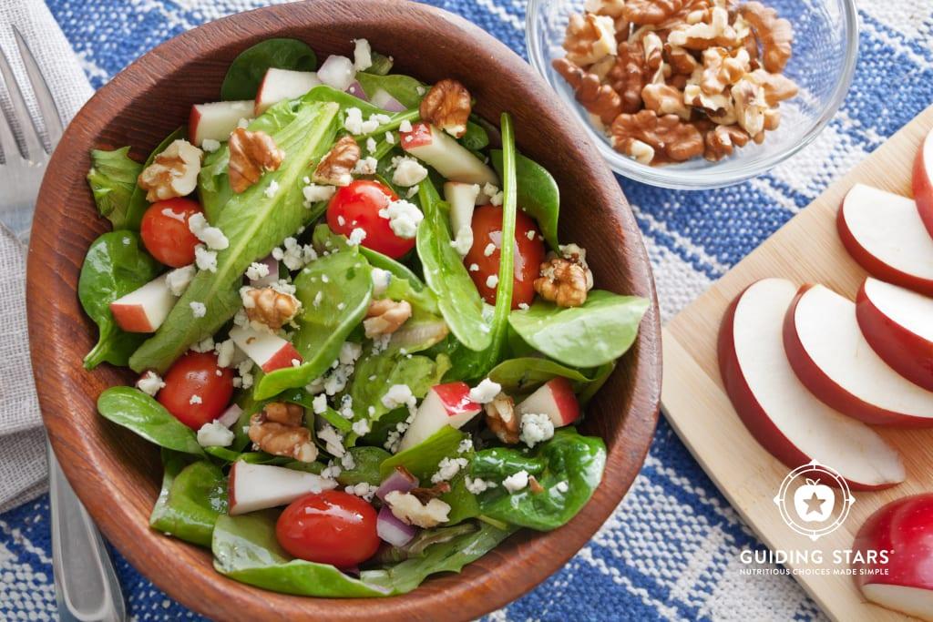 Apple Walnut Tossed Salad