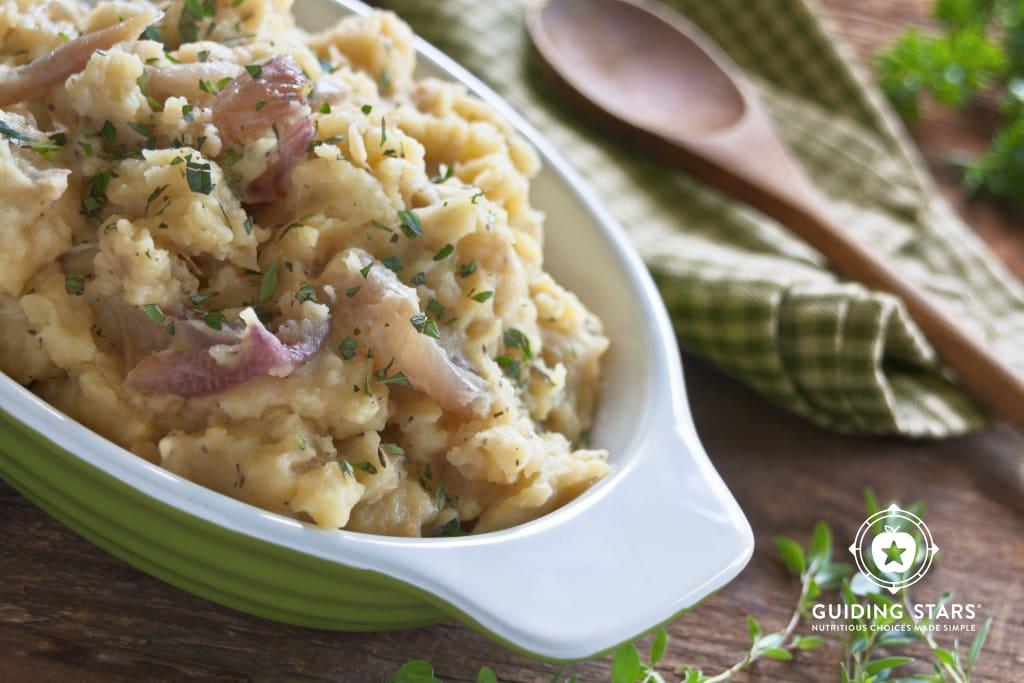 Roasted Shallot Mashed Potatoes