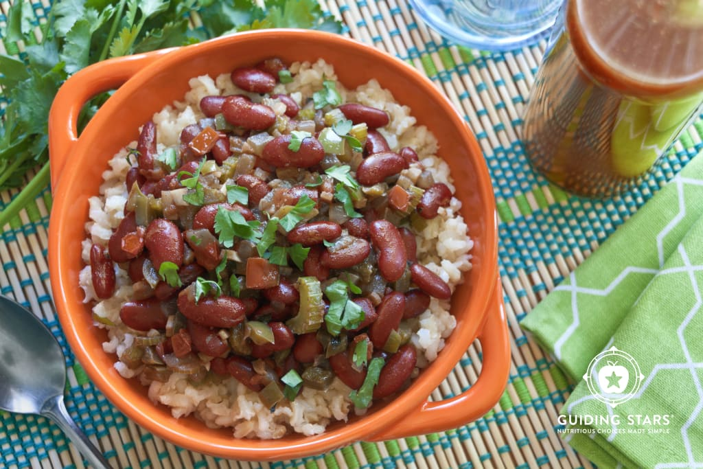 Caribbean Red Beans and Brown Rice