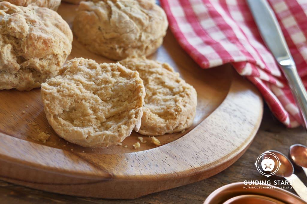 Whole Grain Buttermilk Biscuits