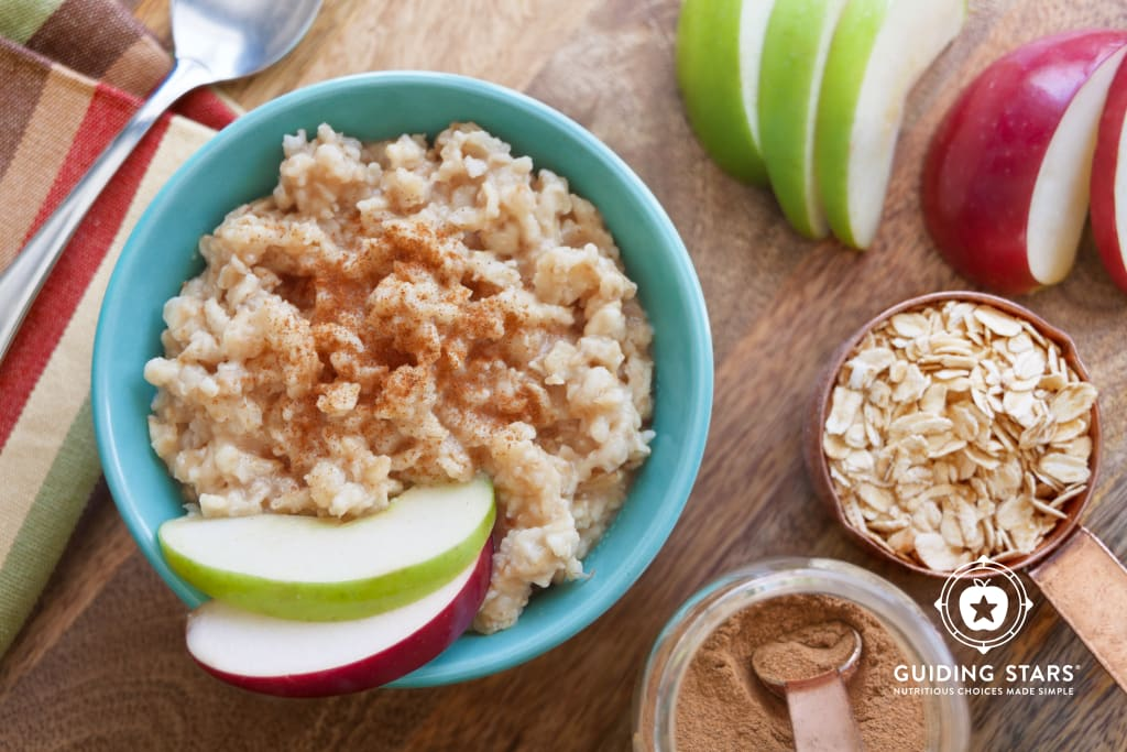 Applesauce Oatmeal for One