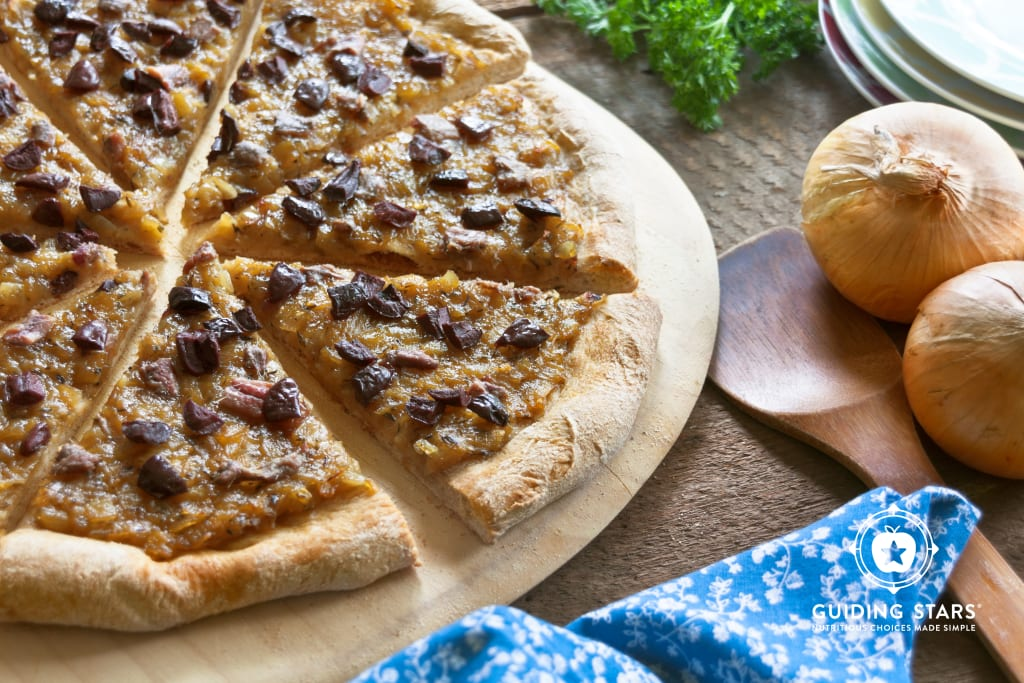Provencal Onion Pizza